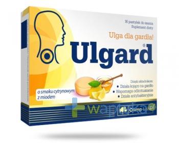 Olimp Ulgard o smaku cytryny z miodem 16 tabletek do ssania