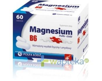 Magnesium B6 Polfa-Łódź 60 tabletek