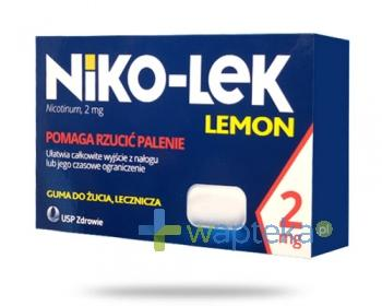 Niko-Lek (Niccorex) Lemon 2mg 24 gumy do żucia