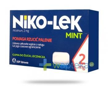 Niko-Lek (Niccorex) Mint 2mg 24 gumy do żucia