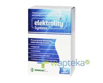 Elektrolity Synteza proszek bezsmakowy 10 saszetek