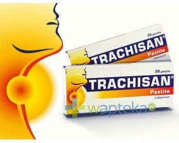 Trachisan 8 mg 20 pastylek
