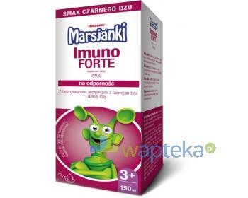 Marsjanki Imuno Forte syrop na odporność 150 ml