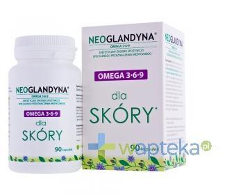 Neoglandyna omega 3-6-9 dla skóry 90 kapsułek