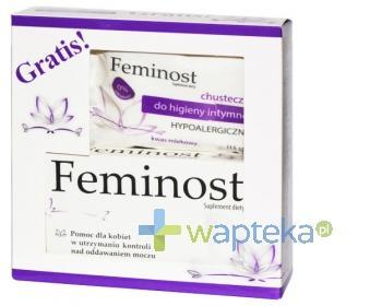 Feminost 56 tabletek + Chusteczki do higieny intymnej 15 sztuk GRATIS