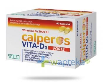 Calperos Vita-D3 Forte 60 kapsułek