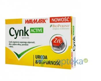 Cynk Active 30 tabletek WALMARK
