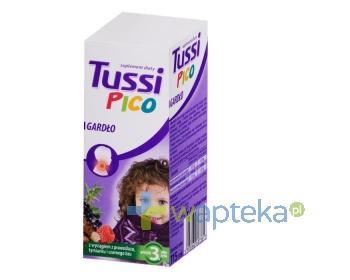 TussiPico Gardło syrop 115 ml [Data ważności 31-10-2018]