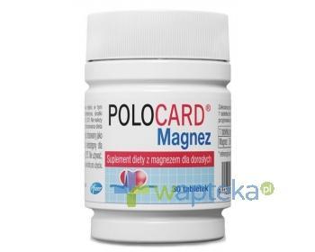Polocard Magnez 350mg 30 tabletek