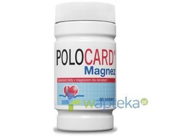 Polocard Magnez 350mg 60 tabletek