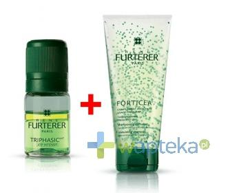 RENE FURTERER TRIPHASIC Serum 8 x 5,5 ml + FORTICEA Szampon stymulujący wzrost włosów 200 ml