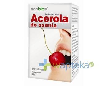 SANBIOS Acerola 60 tabletek do ssania