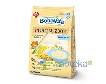 BoboVita Porcja Zbóż. Kaszka mleczna kukurydziano-ryżowa, 210g