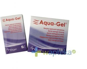 Opatrunek hydrożelowy Aqua-Gel 5cm śred. 5szt.