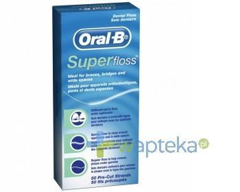 Nić dentystyczna ORAL-B Super Floss 50m