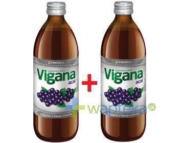 Vigana Acai (1+1 gratis) sok 500ml [Data ważności 30-09-2018]