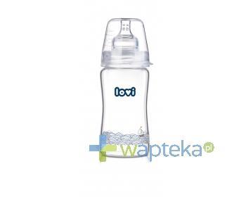 Butelka niemowlęca szklana LOVI Diamond  Glass Marine 74/201 250ml