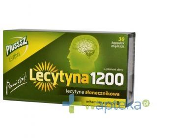 Lecytyna 1200 Plusssz Active 30 kapsułek miękkich z lecytyną słonecznikową