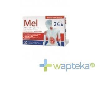 MEL 7,5 mg 20 tabletek ulegających rozpadowi w jamie ustnej