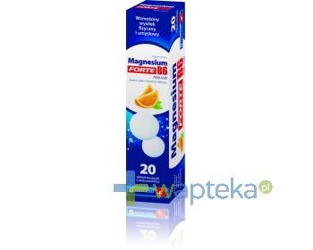 Magnesium B6 Forte 20 tabletek musujących Polfa-Łódź