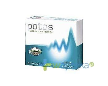 Potas 0,08 g 100 tabletek