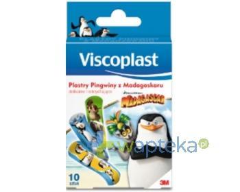Plastry zestaw DLA DZIECI Pingwiny z Madagaskaru 10 sztuk