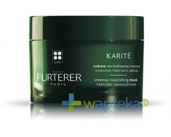 RENE FURTERER KARITE Maska intensywnie regenerująca włosy suche i zniszczone 200ml + szampon OKARA 15 ml GRATIS!
