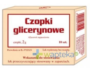 Czopki glicerynowe 2g GEMI 10 sztuk