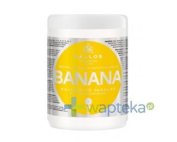 KALLOS KJMN Maska do włosów Bananowa 1000 ml