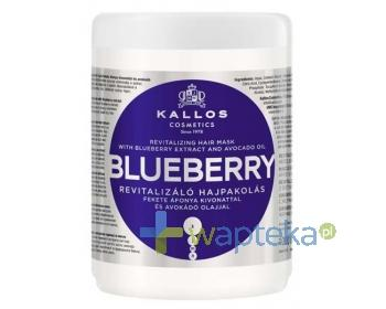 KALLOS KJMN Maska do włosów Blueberry z ekstraktem z jagód i olejem avokado 1000ml