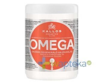 KALLOS KJMN Maska do włosów z kompleksem omega-6 1000ml
