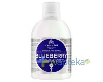 KALLOS KJMN Szampon Blueberry odżywczy jagodowy 1000ml