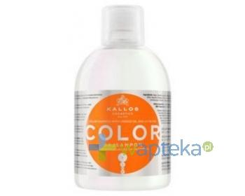 KALLOS KJMN Szampon Color do włosów farbowanych 1000ml