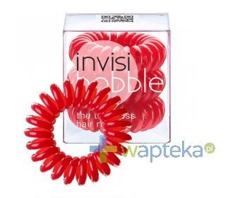 INVISIBOBBLE Gumki do włosów czerwone 3 sztuki