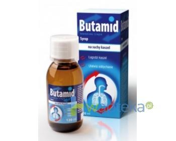 Butamid syrop 1,5 mg/ml 120 ml