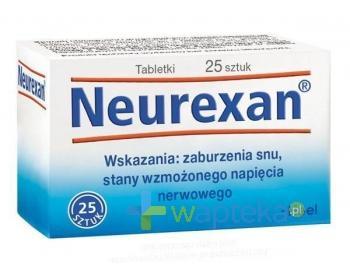 HEEL Neurexan 25 tabletek