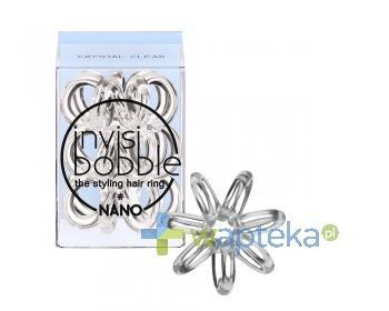 INVISIBOBBLE NANO Gumki do włosów przezroczysta 3 sztuka