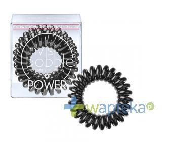 INVISIBOBBLE POWER Gumki do włosów intensywnie czarne 3 sztuki