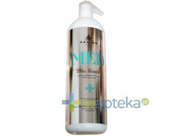 KALLOS MED Detox Głęboko oczyszczający szampon do włosów 1000 ml