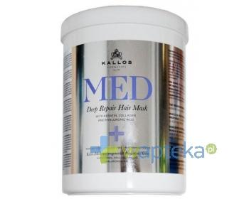 KALLOS MED Deep Repair Hair Mask Regenerująca maska do włosów 1000ml
