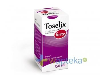 Toselix Forte syrop 1,5 mg/ml 150 ml