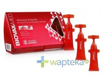 Biovax Med ampułki aktywne kuracja przeciw wypadaniu włosów 10x 6,5 ml