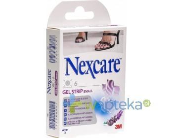 Plastry Nexcare GEL STRIP Small 6 sztuk