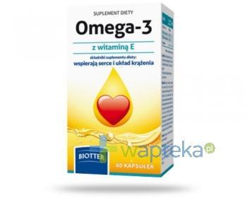 BIOTTER Omega-3 + witamina E 60 kapsułek