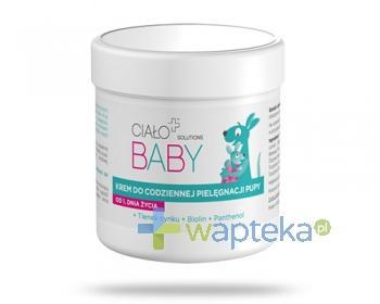 Ciało+ Solutions Baby krem do codziennej pielęgnacji pupy od 1. dnia życia 60 ml