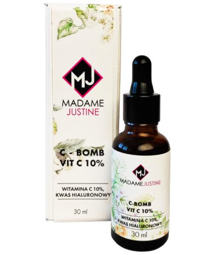 Madame Justine serum do twarzy witamina C 10% i kwas hialuronowy 30 ml