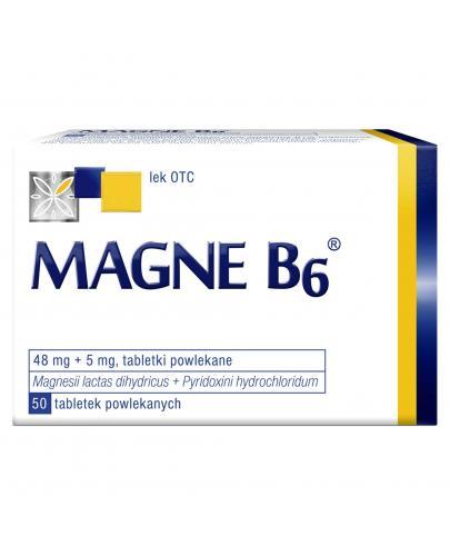 Magne B6 50 tabletek