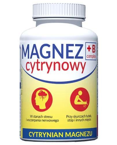 Magnez B Complex cytrynowy 100 tabletek Uniphar