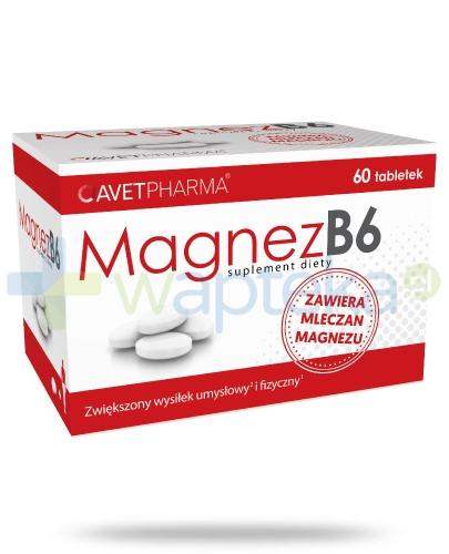 Avet Pharma Magnez B6 60 tabletek