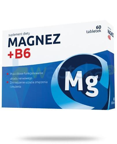 Magnez + B6 60 tabletek Nord Farm